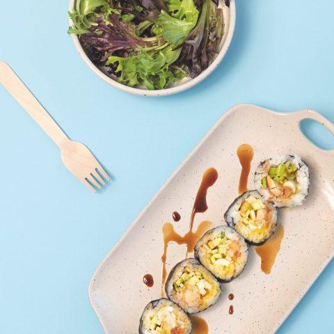 MS0102-Makis foie gras à la pomme et aux œufs